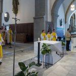 ... und Gesang zur Eröffnung des Gottesdienstes ... (© Herr Mag. Bernhard Wagner)