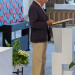Herr Dr. Ulrich Habsburg-Lothringen trägt die 1. Lesung vor, ... (© Herr Mag. Bernhard Wagner)