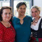 ... Religionslehrerin Frau Heike Pöcheim, Frau Helga Müller und Religionslehrerin Frau Martha Radl (von links) (© Herr Mag. Bernhard Wagner).