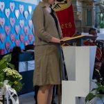 Frau Mag. Barbara Schranz trägt die Lesung vor (© Herr Mag. Bernhard Wagner).