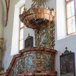 Kanzel der Pfarrkirche (© Herr Mag. Bernhard Wagner).