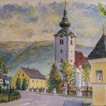 Wandgemälde im Gasthof Markut (© Herr Mag. Bernhard Wagner).