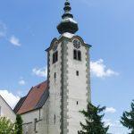 Außenansicht der Pfarrkirche Maria Rojach, ... (© Herr Mag. Bernhard Wagner)