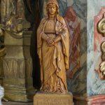 Statue der Hl. Anna beim linken Seitenaltar (© Herr Mag. Bernhard Wagner).