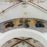 Deckenfresko, die Himmelfahrt Mariens darstellend (© Herr Mag. Bernhard Wagner).