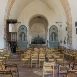 In der Kirche von Ameugny (© Herr Mag. Bernhard Wagner).