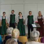 Eröffnungsgesang des gemeinsamen Nachmittags ... (© Herr Mag. Bernhard Wagner)