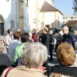 Erläuterungen vor der Wallfahrtskirche Frauenberg (© Herr Josef Baumgartner) ...