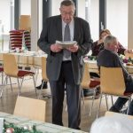 Herr Kurt Weitlauer, Leiter der Seniorenrunde (© Herr Mag. Bernhard Wagner).