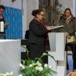 ... Religionslehrerin Frau Heike Pöcheim ... (© Herr Mag. Bernhard Wagner)