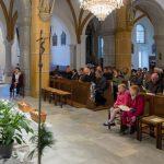 Blick in die Kirche zu den Versammelten (© Herr Mag. Bernhard Wagner).