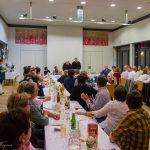 Die Gäste bei der Geburtstagsfeier: Familienmitglieder, Personen des Pfarrgemeinderates sowie weitere Freunde und Bekannte (© Herr Mag. Bernhard Wagner).