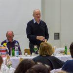 Ansprache des Jubilars (© Herr Mag. Bernhard Wagner).
