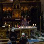 ... etwas später folgt die Präfation welche am Beginn des Eucharistischen Hochgebetes steht (© Herr Mag. Bernhard Wagner).