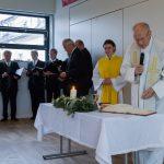 ... am Beginn des Eucharistischen Hochgebetes (© Herr Mag. Bernhard Wagner).