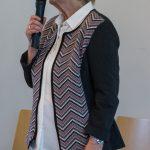 Frau Hermine Jennewein, Mitglied des Sozialarbeitskreises (© Herr Mag. Bernhard Wagner).
