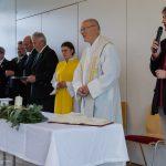 Pfarrgemeinderatsobmann Herr Klaus Penz begrüßt die Anwesenden (© Herr Mag. Bernhard Wagner).