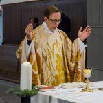 Das Eucharistische Hochgebet beginnt mit der Präfation ... (© Herr Mag. Bernhard Wagner)