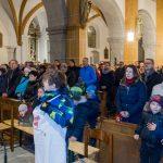 Die vielen Besucherinnen und Besucher der Kinderchristmette (© Herr Mag. Bernhard Wagner).