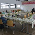 Blick in den Markussaal zu den Anwesenden (© Herr Mag. Bernhard Wagner).