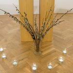 ... und hier speziell der Palmzweige und Lichter (© Herr Mag. Bernhard Wagner).