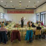 ... bei einem gemütlichen Ostertreffen im Markussaal mit Kaffee, Tee ... (© Herr Mag. Bernhard Wagner)
