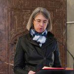 Vortrag der ersten Lesung durch Frau Mag. Barbara Schranz, ... (© Herr Mag. Bernhard Wagner)