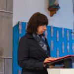 ... und der zweiten Lesung durch Pastoralassistentin Frau Monika Wuggenig (© Herr Mag. Bernhard Wagner).