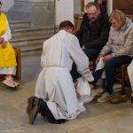 Es folgt die symbolische Fußwaschung ... (© Herr Mag. Bernhard Wagner)