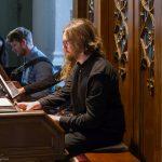 Organist Herr Aleksey Vylegzhanin ... (© Herr Mag. Bernhard Wagner).