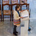 Beim Vortrag eines Textes (© Herr Mag. Bernhard Wagner).