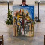 Versteigerung eines Gemäldes von Künstler Herrn Walter Teschl (© Herr Mag. Bernhard Wagner).