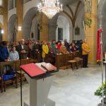 Blick in die Kirche zu den zahlreichen Gläubigen (© Herr Mag. Bernhard Wagner).