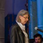Frau Mag. Barbara Schranz beim Vortrag der ersten Lesung (© Herr Mag. Bernhard Wagner).