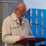 Es folgt die Passion nach dem Evangelisten Lukas, Lk 22, 14 - 23, 56. Herr Fritz Richter als Evangelist (Erzähler), ... (© Herr Mag. Bernhard Wagner)