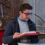 Herr Christian Cufer spricht die Fürbitten (© Herr Mag. Bernhard Wagner).