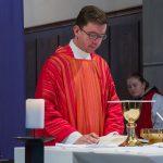 Der Provisor betet das Gabengebet ... (© Herr Mag. Bernhard Wagner)