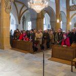 Blick in den Kirchenraum zur versammelten Gemeinde (© Herr Mag. Bernhard Wagner).