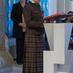 Religionslehrerin Frau Martha Radl liest die Worte der ersten Lesung (© Herr Mag. Bernhard Wagner).