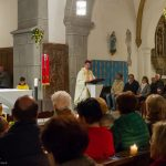 Hier sieht man ihn bei der Osterpredigt ... (© Herr Mag. Bernhard Wagner).