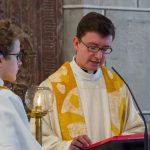 Der Provisor verkündet das Evangelium, ... (© Herr Mag. Bernhard Wagner)
