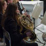 ... eine der beiden Hornistinnen ... (© Herr Mag. Bernhard Wagner)
