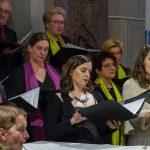... sowie die Sopranistin (© Herr Mag. Bernhard Wagner).