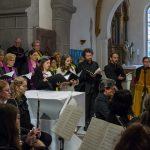 Blick zum Soloquartett und zum Organisten (© Herr Mag. Bernhard Wagner).