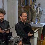 Von links: Tenor, Bass und Organist (© Herr Mag. Bernhard Wagner).