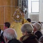... den Eucharistischen Segen ... (© Herr Mag. Bernhard Wagner).