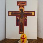 Nähere Ansicht von Ikone und Kerze (© Herr Mag. Bernhard Wagner).