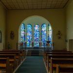 Inneres einer Kirche in Unterdellach ... (© Herr Mag. Bernhard Wagner).