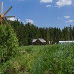 Zeckis Hütte auf dem Weg zum Wasserfall (© Herr Mag. Bernhard Wagner).