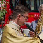 Eucharistischer Segen (© Herr Mag. Bernhard Wagner).